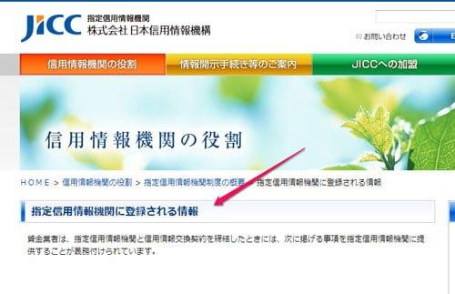 JICC 信用情報機関の役割
